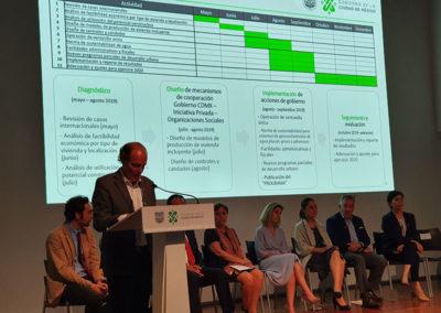 foto 03 en la Presentación del Programa Especial de Regeneración Urbana y Vivienda Incluyente