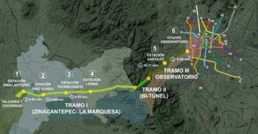 La construcción del Tramo 3 del Tren México-Toluca