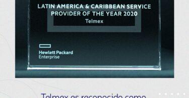 Telmex es reconocido como Mejor Proveedor de Servicios en América Latina