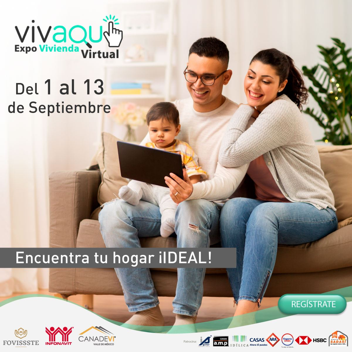baner vivaqui expo vivienda virtual