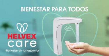 Helvex desarrolla la línea Care para generar espacios limpios y seguros