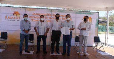 Grupo Sadasi inaugura parque en Paseos de Tixcacal, Yucatán
